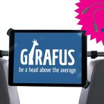 Avis test Girafus Relax H3 support tablette voiture