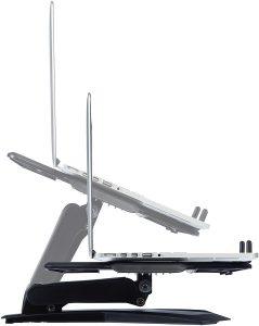 Avis test AmazonBasics support ordinateur portable